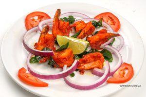 South Indian Masala prawns
